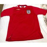 1ba78db2e2 Camisa Oficial Seleção Inglesa De Futebol (umbro)-copa 2006