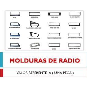 Moldura Radio Escort Zetec 1997 Preta Peca