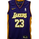 Camisa Lakers Basquete Uniformes - Camisas de Basquete no Mercado ... 079656cd39f95