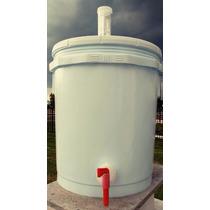 Cubeta Fermentador Plástico 20 L (5 Gal) Cerveza Artesanal