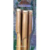 Llamador De Angeles De Cañas Grande Deco-ofertas