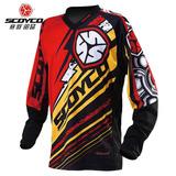 Ropa Remera Motocross T200 Scoyco Rojo,azul Y Verde