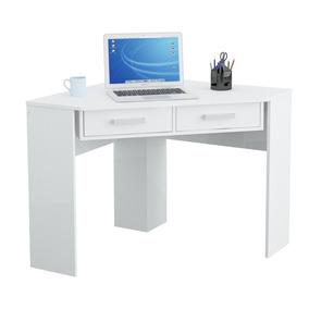 Escritorio Mueble Mesa Esquinero Pc Computadora Blanco