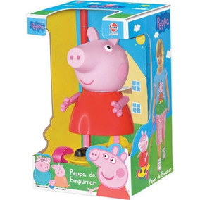 Boneca Peppa Pig De Empurrar