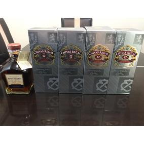 Paquete De 4 Botellas Chivas Regal 12 Y 1 Don Pedro