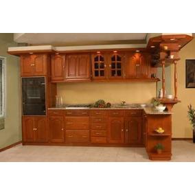 fabrica muebles de cocina algarrobo madera en mercado