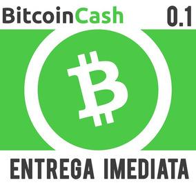 Bitcoin Cash 0.1 Bch Promoção Melhor Preço Envio Imediato