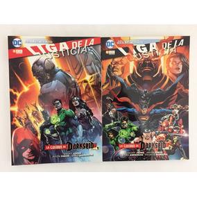 Cómic, Dc, Justice League, Pack Darkseid # 1 Y # 2 Ovni Pres