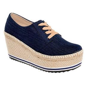 Zapato Casual Dama Jacky Hilton Mezclilla 76084 Originales