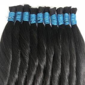 Cabelo Humano Natural Mega Hair 60/65 Cm 50 Gramas - Liso