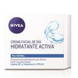 Nivea Crema Facial De Dia Hidratante Hydra Iq Vitaminas E