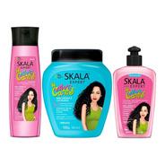 Kit Mais Cachos Gel-crema- Shampoo - g a $50