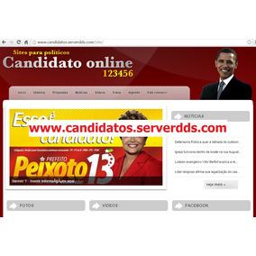 Site Candidatos Diversos - Administrável - Script Php