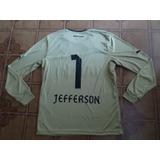Camisa Botafogo Dourada Goleiro 1 Jefferson G