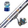 Equipo Pesca Pejerrey Kunnan Atherion 4m + Micro Reel 1004