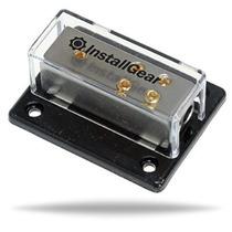 Installgear 4/8/10 Awg Distribución Gauge Power Block Calibr