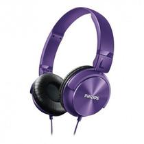 Auricular Philips Shl3060 Dj Vincha 1000mw Violeta