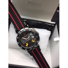 Relógio Tissot T0636173 Tito Rabat Preto Trace Moto Gp Novo