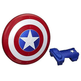 Marvel Figura Capitán América, Escudo Magnético - Nuevo
