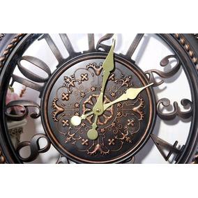 Relógio De Parede Decorativo Retrô Grande 40cm Promoção