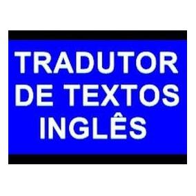 Tradução E Serviços Linguísticos (inglês)