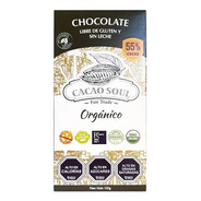 Chocolate Vegano 55% Orgánico Cacao Soul Barra 100g
