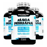 3x Maca Peruana 2500mg Pura 150 Cápsulas - Premium Original