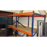 Racks Para Pallets 2 Modulos Con Estantes 2.80 M Mar D Plata
