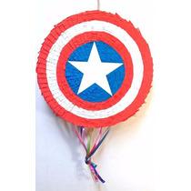 Piñata Capitán America Escudo