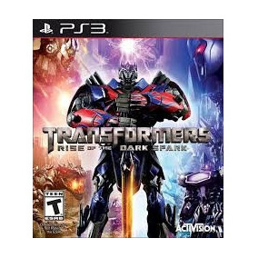 Transformers: Rise Of The Dark Spark - Ps3 Midia Digital Psn