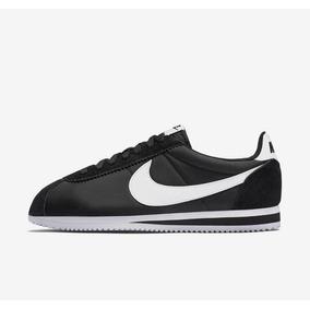 Tênis Nike Cortez Original Unissex Preto C/ Branco