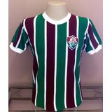 Camisa Retrô Fluminense Máquina Tricolor - S A L D Ã O ! ! !