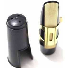 Boquilha Sax Alto Completa Abs Custom N7