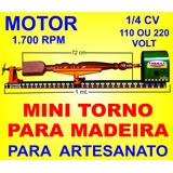 Mini Torno Madeira 1 Metro 1.0