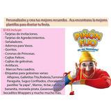 Kit Imprimible Candy Piñon Fijo Tarjetas Cumple Y Mas