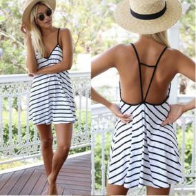 Vestido Casual Corto Playa