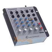 Mesa De Som 4 Canais Nanomix Na402r Nca Stereo Full