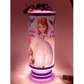 Princesa Sofia Centros De Mesa 10 Lámparas 39 Cm Personaliza