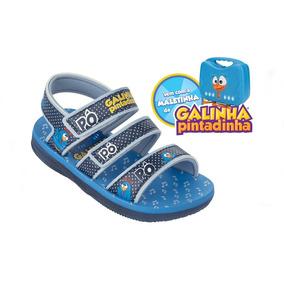 Sandália Infantil Galinha Pintadinha Grendene .