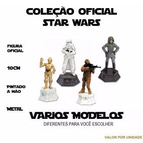 Star Wars Boneco Xadrez Figura Oficial Metal Escolha