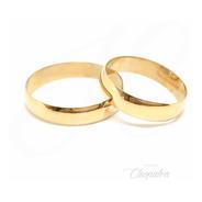 Alianzas Oro 18k 5gr Compromiso Casamiento Italiano