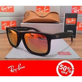 Óculos Ray Ban Justin Rb 4165 Original Várias Cores + Brinde 9c10774c95