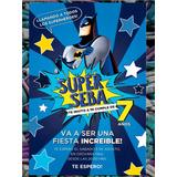 Tarjeta - Invitación Batman Infantil Cumpleaños Comic