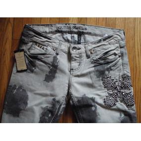 Jeans Guess Premium 100% Originales Gris/negro Envio Gratis
