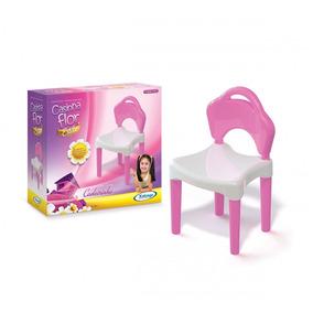Brinquedo Para Playground Cadeirinha Casinha Flor Estilo