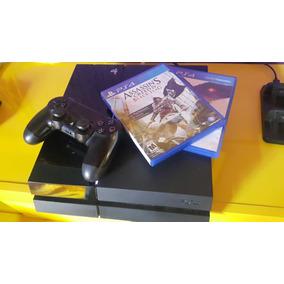 Ps4 Playstation 4 500gb Bivolt + Jogos Originais + Controle