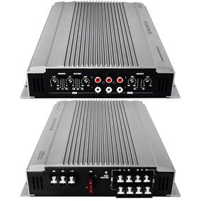 Nuevo Amplificador P/ Auto 1800w 4ch Audiobahn Rockstar Txt