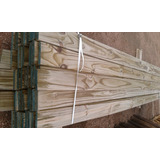 Tabla Deck Curadas Cca1x5x3.30mt Madera Tratada Piso Pared