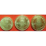 Monedas De 2016 Dificil, De 10,50 Y 100 Por Bs. 10._