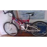 Bicicleta Baccio Flash-rod.26-doble Amortiguación 21 Cambios